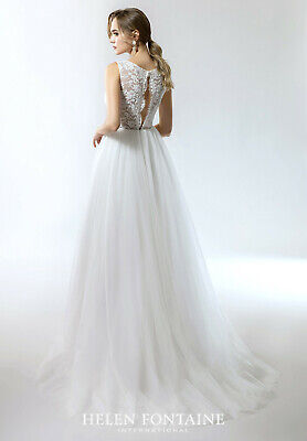 AU499 • Buy Wedding Dress - Helen Fontaine Ex Sample Size US12 (AU14 To AU16)