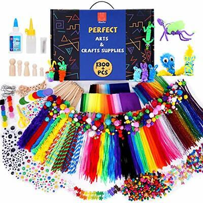 WeeYo Arts And Crafts For Kids,1300+ Pcs Craft Kit Library In A Box For Kids ... • 33£