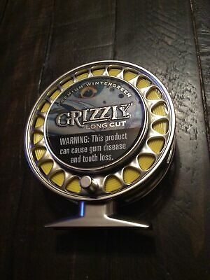 $ CDN36.79 • Buy Grizzly Chew Can Holder Fishing Reel Rare Collectible Tobacco Advertising Sealed
