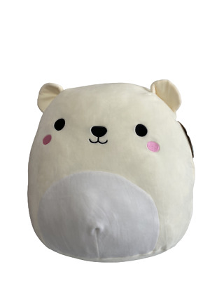 $ CDN71.05 • Buy Squishmallows 16 Inch Brooke The White Bear Plush Toy Soft Gift