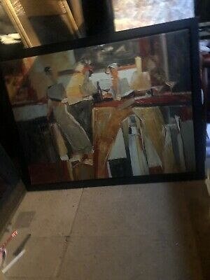 Large Framed IKEA Canvas Painting • 25£