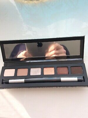 Mac Make Up Palette Shades Of Brown And Gold With Eyeshadow Brush  • 24.99£