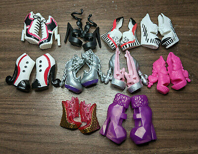 $ CDN30 • Buy #6 Lot Of Monster High Shoes 10 Pairs