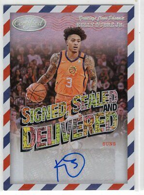 AU2.60 • Buy 2020-21 Panini Certified Signed, Sealed & Delivered Auto Kelly Oubre Jr Dubs