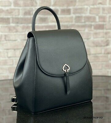 $ CDN150.37 • Buy KATE SPADE NEW YORK ADEL LEATHER MEDIUM BACKPACK SHOULDER BAG PURSE $299 Black