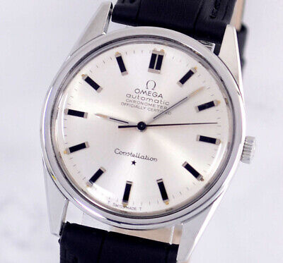 $ CDN59.49 • Buy Vintage Omega Constellation Chronometer Auto Cal712 Silver Dial Men's Watch