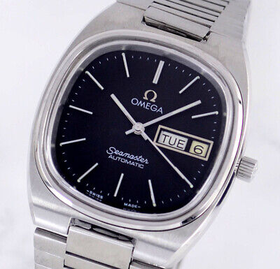 $ CDN15.82 • Buy Vintage Omega Seamaster Automatic Cal1020 Day&date Black Dial Men's Watch