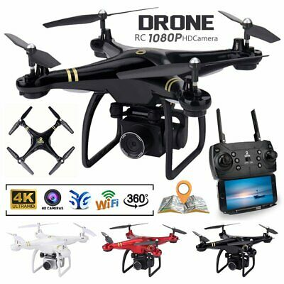 AU187.08 • Buy 5G Drones X Pro With HD Camera GPS 1080P 4K Follow Me Wifi FPV Quadcopter Drone