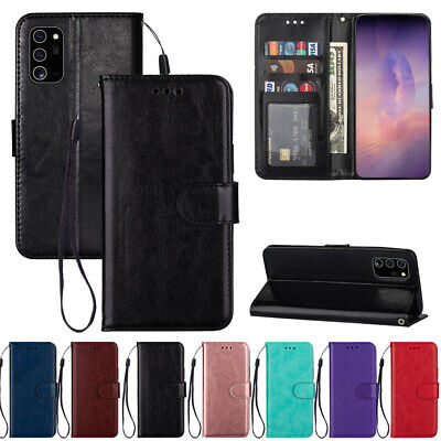 $ CDN6.32 • Buy For Samsung Note 20 Ultra 10 Plus Magnetic Leather Wallet Flip Phone Case Cover