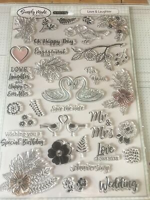 Clear Stamps For Card Making • 4£