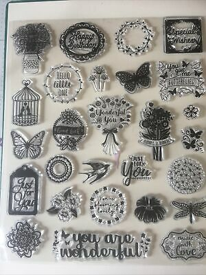 Clear Stamps For Card Making • 2.50£