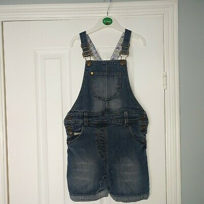 Girls Short Dungarees Size 7-8 By Sugar Pink • 1.70£