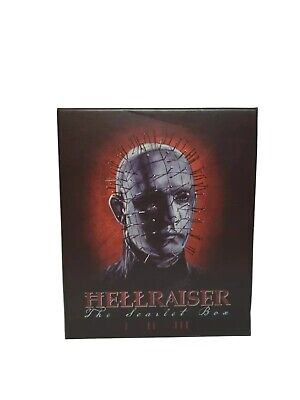 Hell Raiser: The Scarlet Box Limited Edition Trilogy [Blu-Ray] • 149.99£