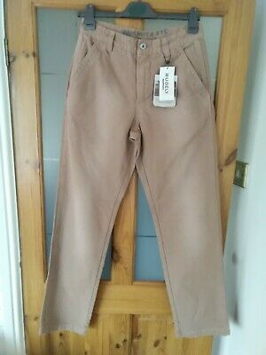 £13.50 • Buy Murphy & Nye Marine Heritage Faded Dyed Camel Canvas Casual Trouser W30 BNWT