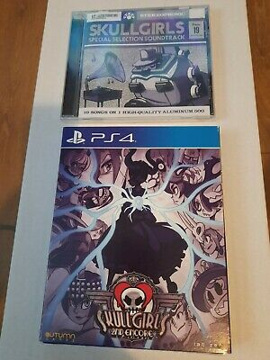 Skull Girls 2 + Soundtrack For PS4 Limited Run Games #97 ** New & Sealed ** • 12.50£