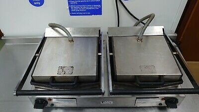 LINCAT Clamp Grill Double Panini Press Flat Contact Grill Commercial Catering • 100£