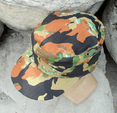 $19.99 • Buy WWII German M43 Field Cap Ruins Camouflage Hat Cotton Size XL