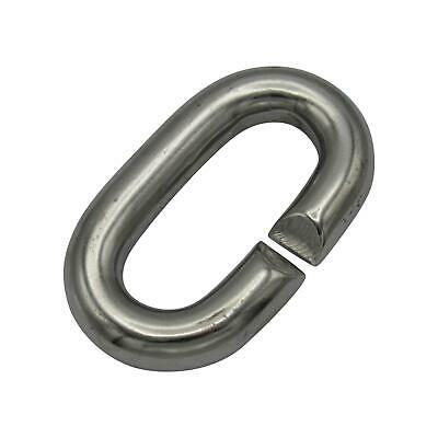 10MM Stainless Steel C Ring - Marine Chain Link • 3.30£