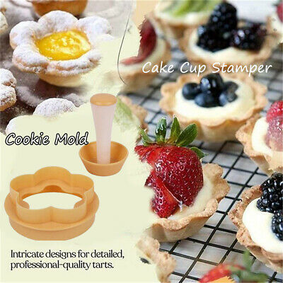Mold Kitchen Supplies Stamper Donut Fondant Cake Rice Ball Moulds Cake Cup • 5.64£