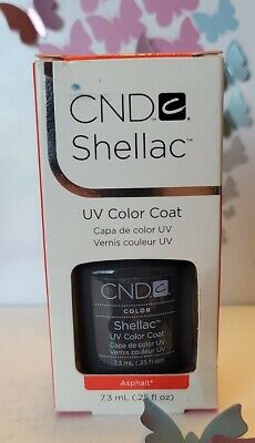 AU12.88 • Buy CND Shellac UV LED Gel Nail Polish ASPHALT 7.3ml 0.25oz **FREE SHIPPING**