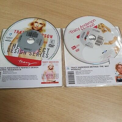 £2.50 • Buy DISC ONLY -  2 X The Tracy Anderson  - Method  Mat Workout  & PERFECT DESIGN