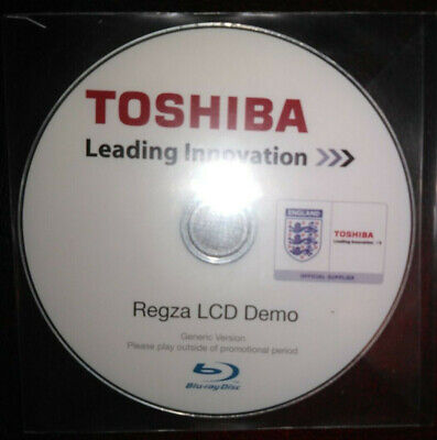 TOSHIBA Regza TV Promotional Demonstration Product Images 2010 Blu-ray DVD Disc • 4.99£
