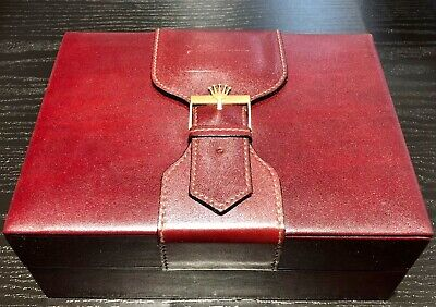 $ CDN39.13 • Buy Rolex Watch Box For Vintage President Day Date Leather & Wood Original Watch Box
