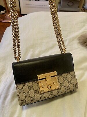 AU1350 • Buy Gucci Padlock Small GG Shoulder Bag