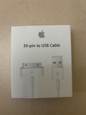 AU10.91 • Buy Apple Original Genuine Data Cable Charger Iphone 4 4S IPod IPad 2 3 Free Post