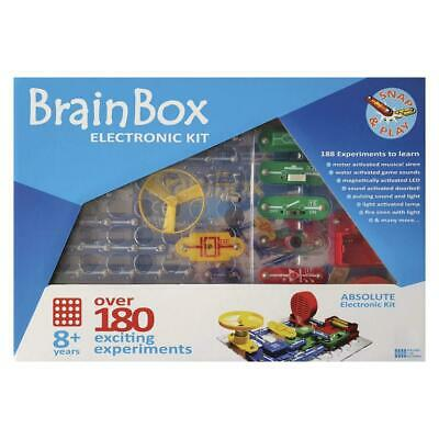 AU49.99 • Buy BrainBox Electronic Kit Over 180 Exciting Experiments