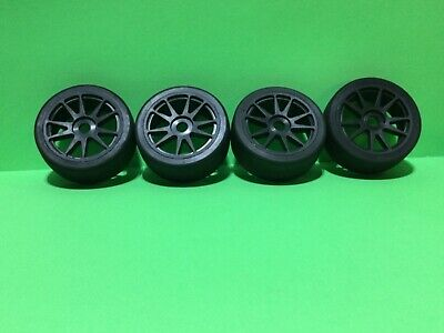 4-1/8 Scale Black Ten Spooked Wheels With Street Tires  • 13.02£