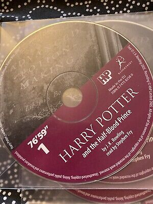 Harry Potter And The Half Blood Prince Audio Book On Cd (missing Discs 6,12,17) • 5.50£