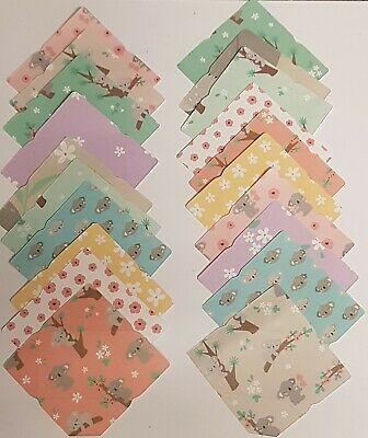 £2.49 • Buy 20 Mini/Tiny Envelopes 'Koala's' Cardmaking Scrapbook Birthday Fairy Mothers Day