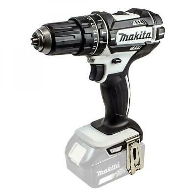 Makita DHP482ZW 18v LXT Li-Ion White Combi Drill 2 Speed Body Only • 59.99£