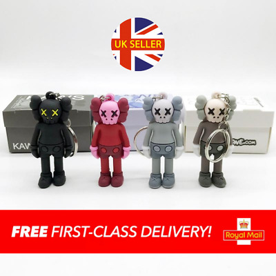 £9.99 • Buy KAWS | 3D Keyring/Keychain | Brand New With Box | Black, Red, Grey, Brown | UK