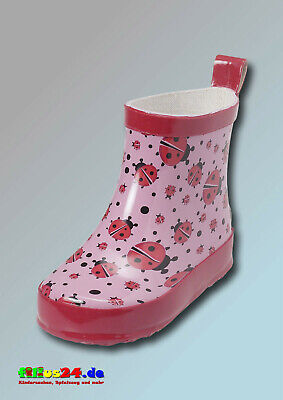 £19.53 • Buy Playshoes Wellies Allover Half Shaft Ladybug Childrens Boots Half-Boots