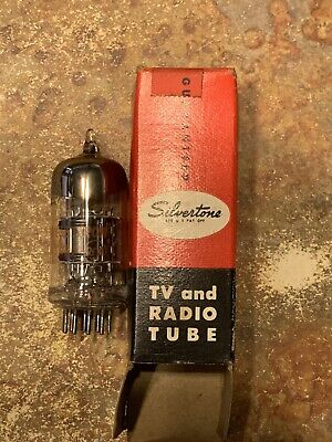 $ CDN8.87 • Buy Vintage Silvertone  5U8 Radio & TV Tube By Sears Roebuck