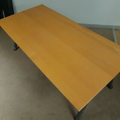 Office Desk With Metal Extendable Legs From Ikea. Good Condition. • 20£