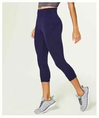 $ CDN32.99 • Buy Lululemon In Movement Crop Leggings.  Gorgeous Purple. PRISTINE! Size 6.