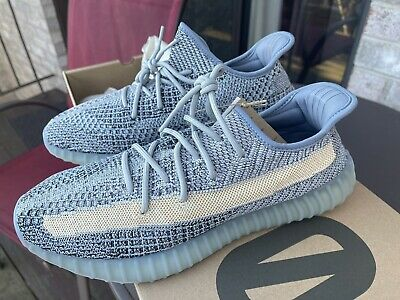 $ CDN247.40 • Buy Yeezy 350 V2 Ash Blue 100% Authenticity Guaranteed! SIZE 12