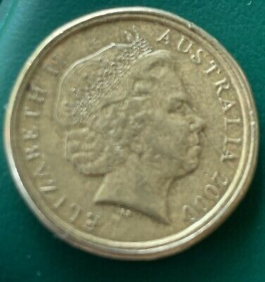 AU1250 • Buy 2000 Mule Mob Of Roos Australia $1 One Dollar Coin Almost Centred Very Rare