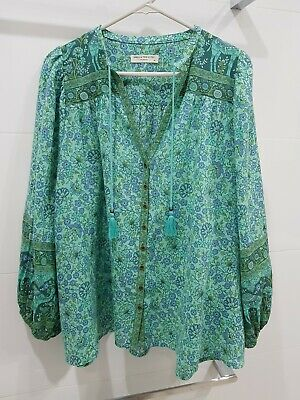 AU102.50 • Buy Spell And The Gypsy Collective Sundown Blouse. Size Medium. Worn Once