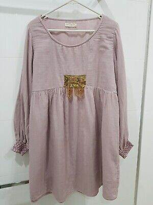 AU50 • Buy Spell And The Gypsy Collective Jesse Jane Dress.Orchid. Size Medium.Worn Twice.