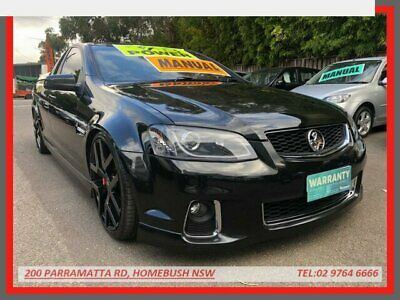 AU32999 • Buy 2012 Holden Commodore VE II MY12.5 SS Z-Series Black Manual 6sp M Utility