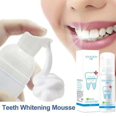 Teeth-Cleaning Whitening Mousse Toothpaste Removes Plaque Stains • 3.12£