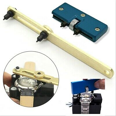 $ CDN5.71 • Buy Adjustable Watch Repair Tool Kit Back Case Opener Cover Remover Screw Wrench