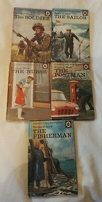 5 Ladybird Books Series 606D People At Work  • 15£