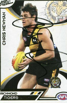 AU5 • Buy AFL Select 2006 Supreme  #140 Richmond Chris Newman Autographed Card