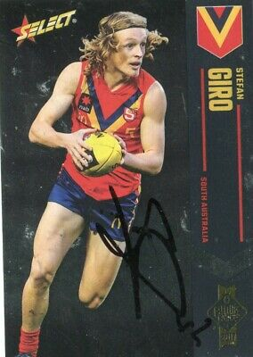 AU5 • Buy AFL Select 2017 Future Force #29 Stefan Giro Autographed Card