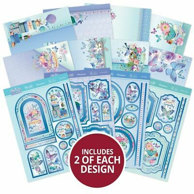 £5.49 • Buy Card Making Toppers Kits Hunkydory Butterfly Blue Birthday Mother Mum Ladies Kit